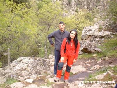 Cascadas del Purgatorio - Rutas de senderismo en Madrid; rutas senderismo sierra madrid; singles mad